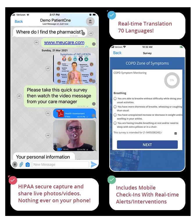 Me+U multichannel communication solution